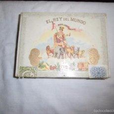 Coleccionismo: ANTIGUA CAJA DE HABANOS EL REY DEL MUNDO 15 DEMI. Lote 56991793