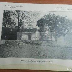 Coleccionismo: SUKARRIETA - PEDERNALES VIZCAYA , ERMITA DE SAN ANTONIO -AÑO 1926-(REF-BM) 22,8X15CM LAMINA. Lote 145623193