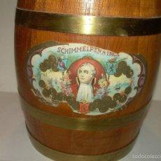 Coleccionismo: ANTIGUA CAJA DE TABACO DE ROBLE.. Lote 57092592