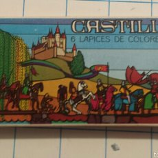 Colecionismo: CAJA DE PINTURAS CASTILLA. LÁPICES DE COLORES. AÑOS 80. Lote 57214981