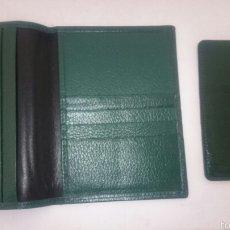 Coleccionismo: CARTERA TARJETERO BILLETERO ROLEX. Lote 57274773