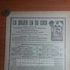 Coleccionismo: LA MUJER EN SU CASA, REVISTA MENSUAL DE ACONOMIA DOMESTICA Y MODAS , MADRID ANUNCIO-AÑO 1925-(REFBN). Lote 57276543