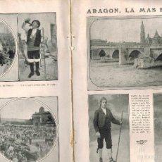 Coleccionismo: AÑO1925 FOTOGRAFIA ARAGON ZARAGOZA TRAJES TIPICOS MAÑO TERUEL PROCESION CORPUS HUESCA GRAUS COSTA. Lote 57349972