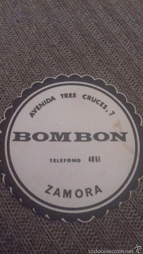 POSAVASOS BOMBÓN ZAMORA (Coleccionismo - Varios)