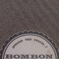 Coleccionismo: POSAVASOS BOMBÓN ZAMORA. Lote 57564216
