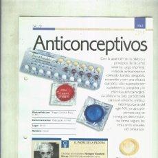 Coleccionismo: ANTICONCEPTIVOS: SON 4 PAGINAS Y . Lote 57621760