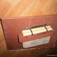 Coleccionismo: GRAN LOTE ANTIGUO ALICANTE DOCUMENTOS CARTAS CUÑOS OBRAS FERROCARRILES CARTAGENA ETC. Lote 57776246