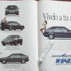 Coleccionismo: PUBLICIDAD AUTOMOVIL RENAULT 19 WIND DE 1992. Lote 57846197