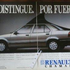 Coleccionismo: PUBLICIDAD AUTOMOVIL RENAULT 19. Lote 57853777