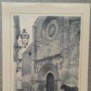 Coleccionismo: LAMINA DE CORDOBA.- PUERTA DE LA IGLESIA DE SAN MIGUEL. REVERSO CON DESCRIPCION HISTORICA. 20X15. Lote 57894985
