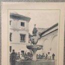 Coleccionismo: LAMINA DE CORDOBA.-FUENTE DEL POTRO. REVERSO CON DESCRIPCION HISTORICA. 20X15. Lote 57894996