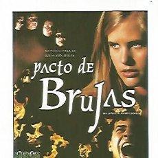Coleccionismo: CROMO CINE 1413: PACTO DE BRUJAS. Lote 57900171
