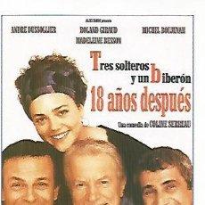Coleccionismo: CROMO CINE 1578: TRES SOLTEROS Y UN BIBERON 18 AOS DESPUES. Lote 57900370