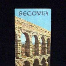 Coleccionismo: SEGOVIA. DESPLEGABLE TURÍSTICO. AÑOS 60. FRANCÉS. Lote 57966347