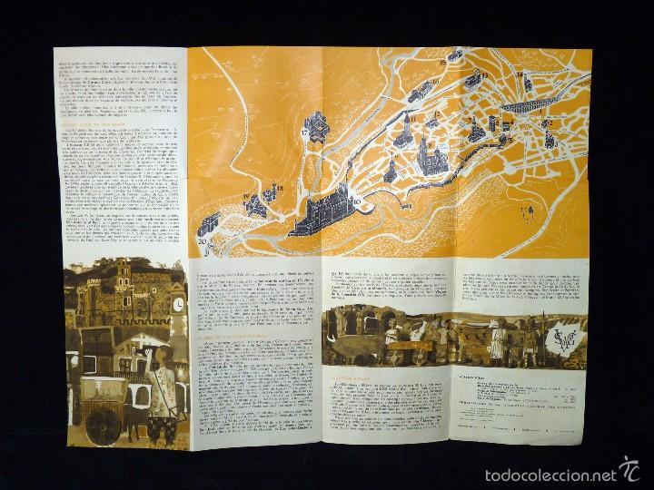 Coleccionismo: SEGOVIA. DESPLEGABLE TURÍSTICO. AÑOS 60. FRANCÉS - Foto 2 - 57966347