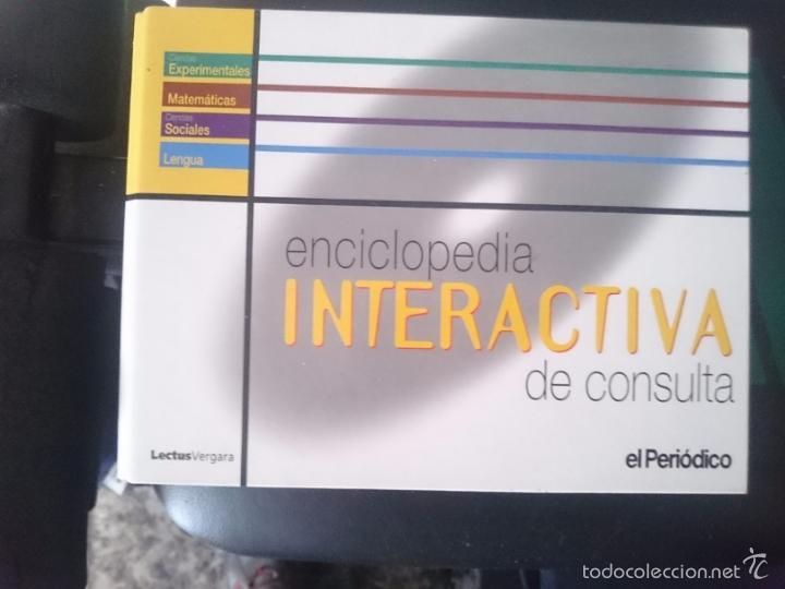 ENCICLOPEDIA INTERACTIVA DE CONSULTA CON VARIOS CDROMS VER FOTOS - ED. EL PERIODICO -REFM1E3 (Coleccionismo - Varios)