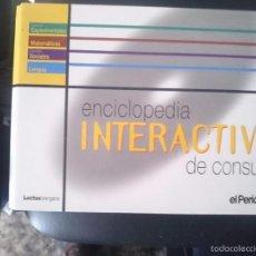 Coleccionismo: ENCICLOPEDIA INTERACTIVA DE CONSULTA CON VARIOS CDROMS VER FOTOS - ED. EL PERIODICO -REFM1E3. Lote 58068707