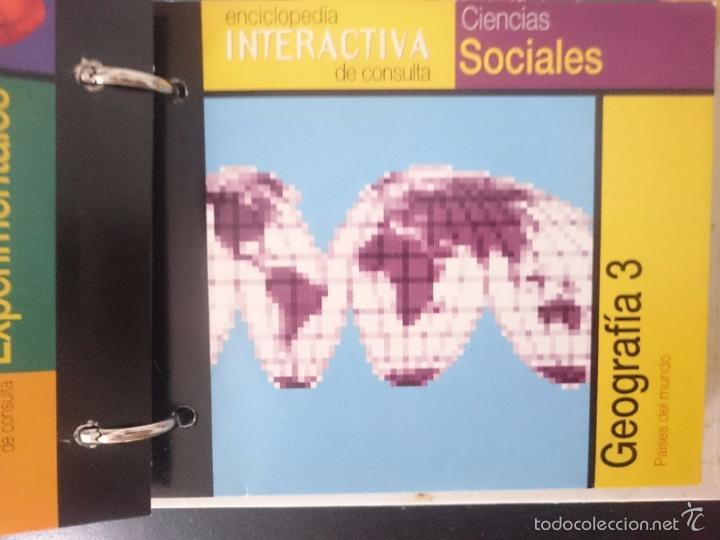 Coleccionismo: ENCICLOPEDIA INTERACTIVA DE CONSULTA con varios CDROMs VER FOTOS - ED. EL PERIODICO -RefM1E3 - Foto 14 - 58068707