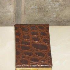 Coleccionismo: PITILLERA DE PIEL,VINTAGE... Lote 58096195