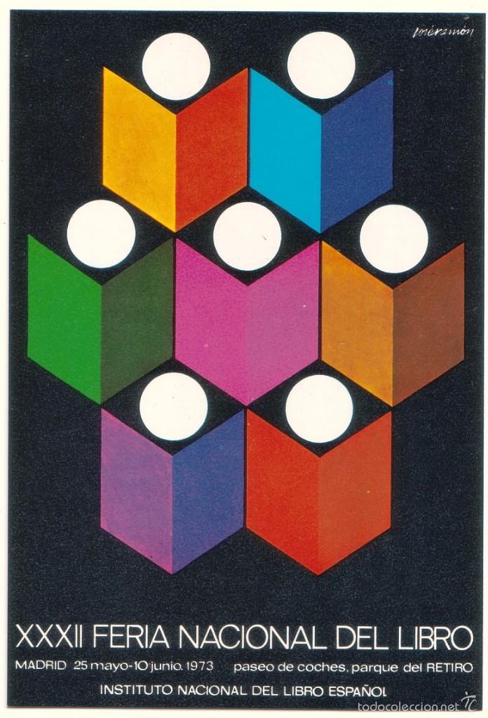 TARJETA DE SORTEO DE LA XXXII FERIA NACIONAL DEL LIBRO. 1973 (Coleccionismo - Laminas, Programas y Otros Documentos)