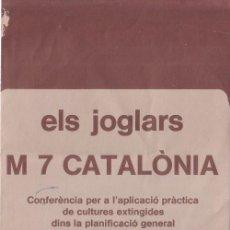 Coleccionismo: PROGRAMA DE MANO DE LA OBRA TEATRAL 'M 7 CATALÒNIA' DE 'ELS JOGLARS'. 1978.. Lote 58137490