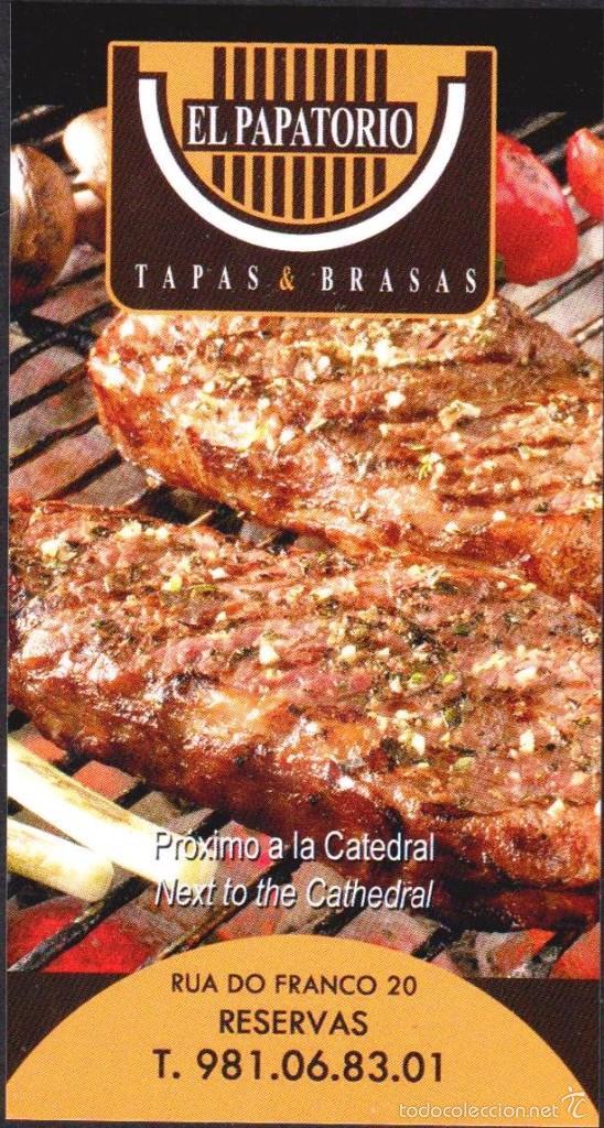 tarjeta el papatorio (santiago de compostela) - Comprar en todocoleccion -  58239708