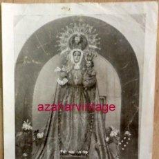 Coleccionismo: GENAVE, JAEN, ESPECTACULAR LAMINA FOTOGRAFICA DE LA SANTISIMA VIRGEN DEL CAMPO,210X320MM. Lote 58283239
