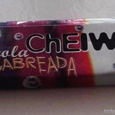 Coleccionismo: CHICLE BUBBLE GUM * CHEIW JUNIOR * SABOR COLA CABREADA. Lote 162920316