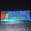 Coleccionismo: CHICLE BUBBLE GUM * CHEIW JUNIOR * SABOR MENTA. Lote 162920345