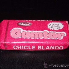 Coleccionismo: CHICLE BUBBLE GUM * GUMTAR * FRESA - AÑOS 80!!. Lote 162920281