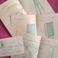 Coleccionismo: VALENCIA. TARJETA + PROPAGANDA DE MUEBLES. Lote 58395243
