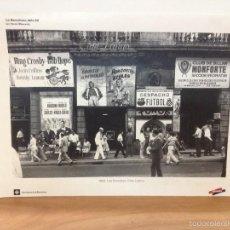 Coleccionismo: 6 LAMINAS / FOTOGRAFIA - ANY 1962 - LA BARCELONA DELS 60 - EL PERIODICO (R). Lote 58414416
