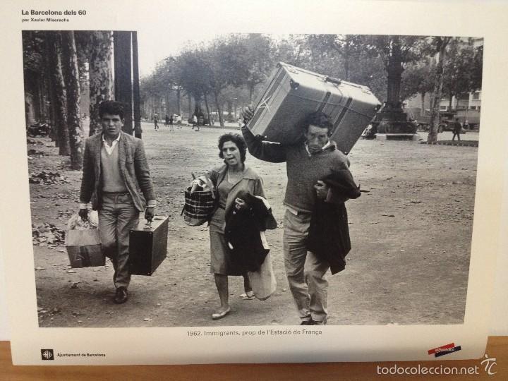 Coleccionismo: 6 LAMINAS / FOTOGRAFIA - ANY 1962 - LA BARCELONA DELS 60 - EL PERIODICO (R) - Foto 2 - 58414416