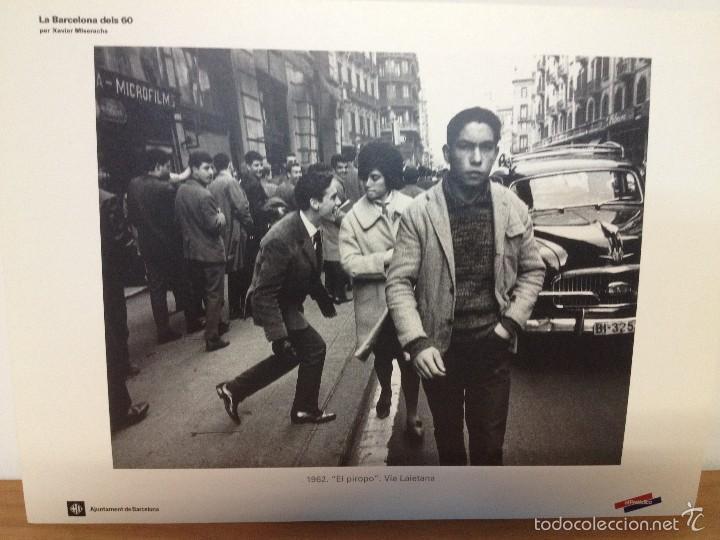 Coleccionismo: 6 LAMINAS / FOTOGRAFIA - ANY 1962 - LA BARCELONA DELS 60 - EL PERIODICO (R) - Foto 3 - 58414416
