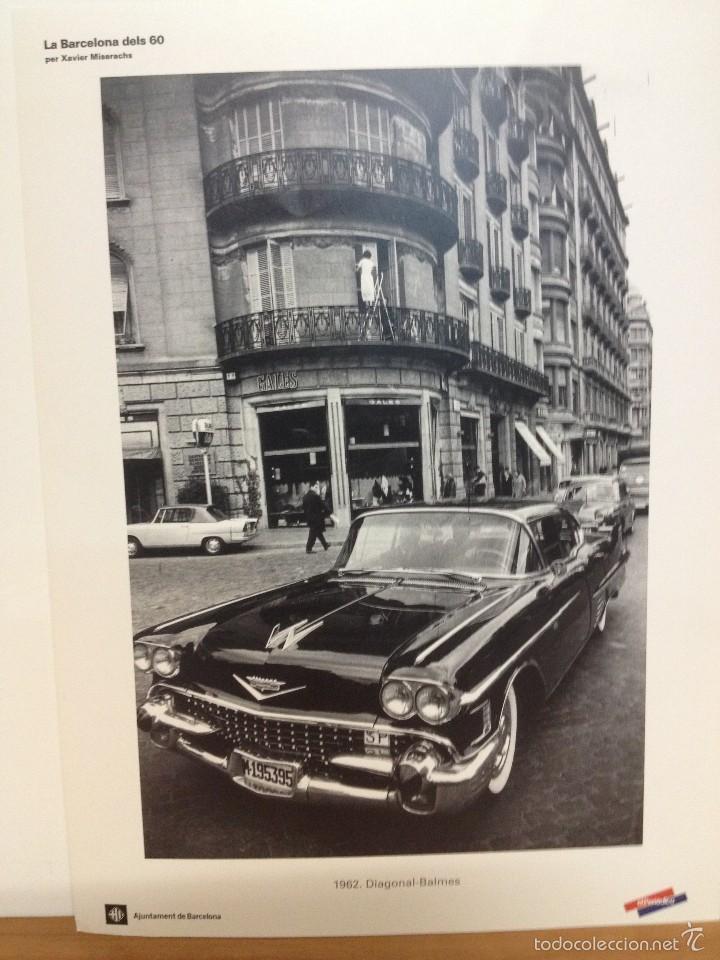 Coleccionismo: 6 LAMINAS / FOTOGRAFIA - ANY 1962 - LA BARCELONA DELS 60 - EL PERIODICO (R) - Foto 4 - 58414416