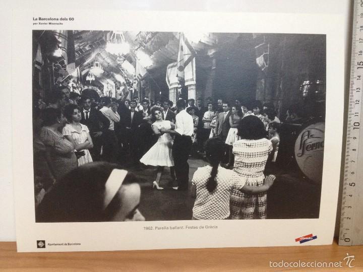 Coleccionismo: 6 LAMINAS / FOTOGRAFIA - ANY 1962 - LA BARCELONA DELS 60 - EL PERIODICO (R) - Foto 6 - 58414416