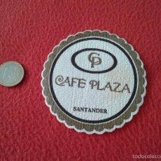 Coleccionismo: POSAVASOS COASTER TENGO MAS POSAVASOS VER LOTES. CP CAFE PLAZA SANTANDER CANTABRIA IDEAL COLECCION V. Lote 58434360