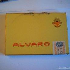 Coleccionismo: CAJA DE PUROS MARCA ALVARO 10 RANGERS CON SU VITOLA SIN ABRIR. Lote 58511815
