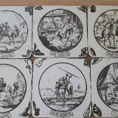 Coleccionismo: LOTE 6 POSAVASOS DON QUIJOTE - DON QUIXOTE - CORCHO (VER IMÁGENES ADICIONALES). Lote 58565105