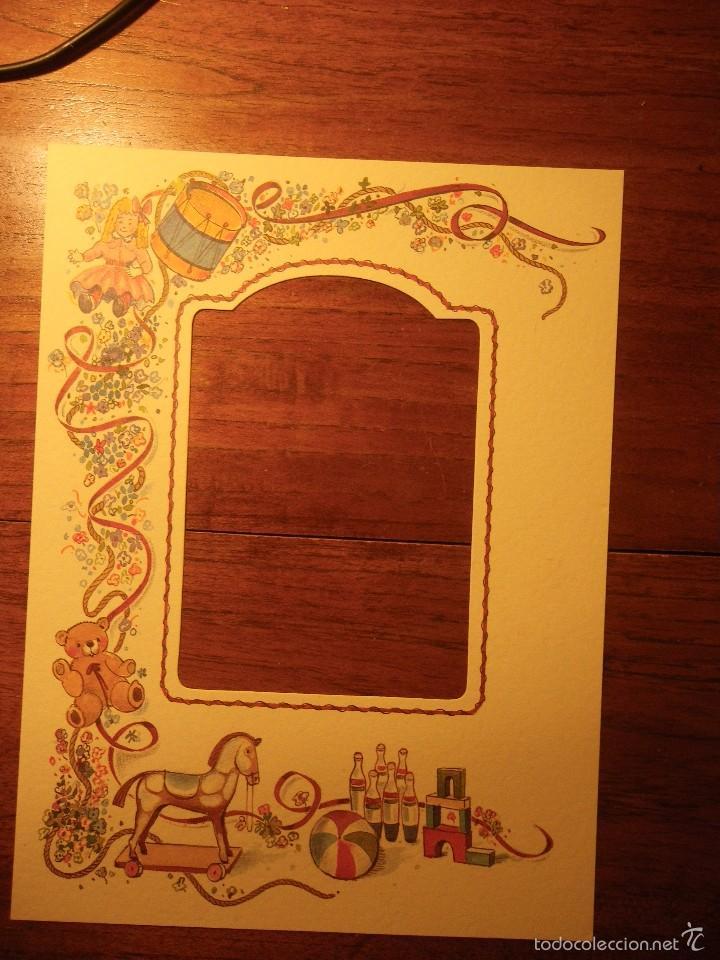marco de cartón (interior 9x12 cm) - Comprar en todocoleccion - 58587127