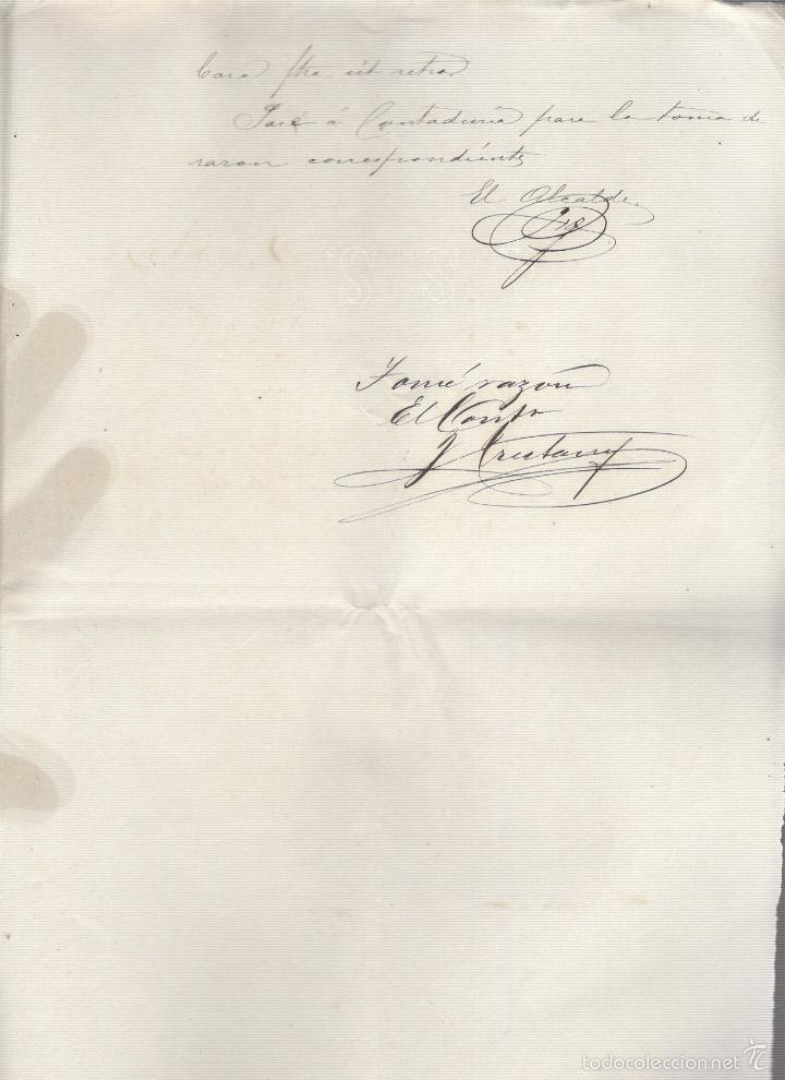 Coleccionismo: GIBARA, CUBA. 1895. COMPAÑIA ARRENDATARIA DE TABACO DE MADRID. VAPOR SAN AGUSTIN A SANTANDER. LEER - Foto 2 - 58618784
