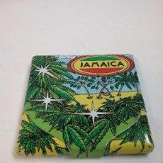 Coleccionismo: PITILLERA METÁLICA JAMAICA . Lote 58630430