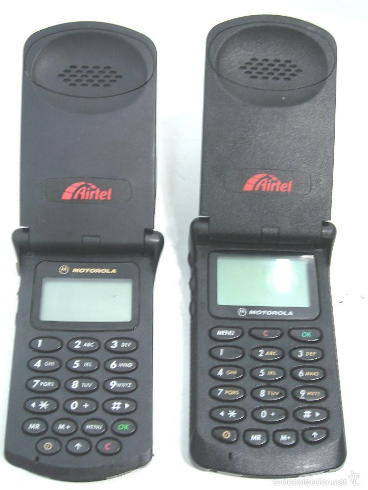 2 x antiguo telefono movil - motorola star tac - Sold