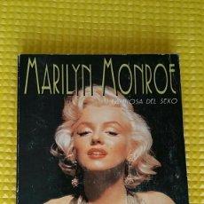 Coleccionismo: MARILYN MONROE.(LIBRO) .LA DIOSA DEL CINE..LA LEYENDA RUBIA QUE ENAMORÓ A MILES. VER FOTOS.. Lote 58859241