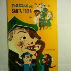 Coleccionismo: PROGRAMA FIESTAS MAYORES STA,TECLA TARRAGONA 1964 - 20 PAG.--BB. Lote 58896491