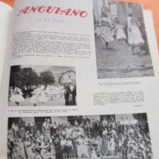 Coleccionismo: ARTICULO 1948 - ANGUIANO LA RIOJA LOGROÑO BAILE DE ZANCOS 1 PAGINA - ALCOY MOROS Y CRISTIANOS 2 PAG. Lote 58999730