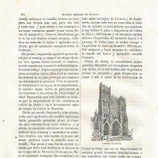 Coleccionismo: LAMINA 3480: CATEDRAL DE AMIENS. Lote 57624846