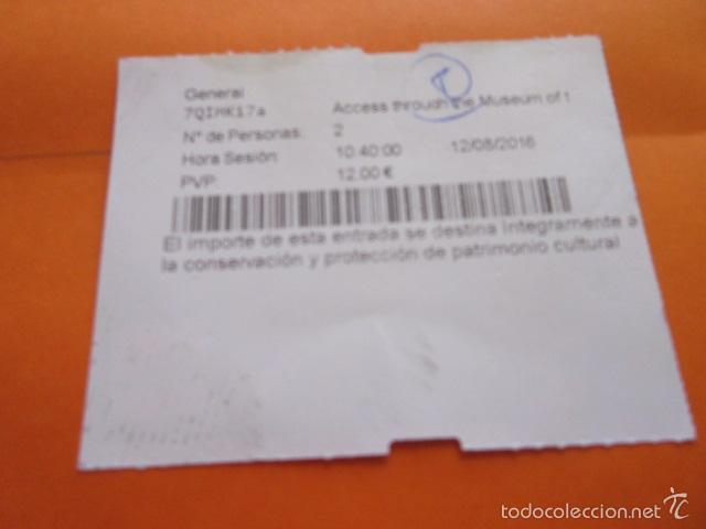 Coleccionismo: ENTRADA MUSEO CATEDRAL DE SANTIAGO DE COMPOSTELA - Foto 2 - 59162005
