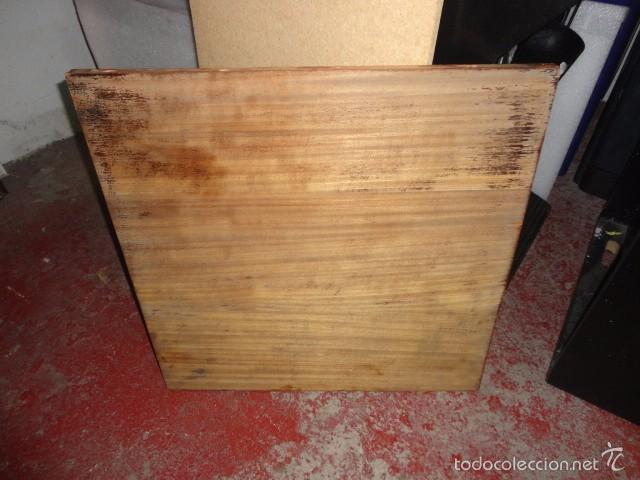 Coleccionismo: Cuadro sobre madera pintada 70 X 70 cm. 1936 1939 - Foto 3 - 60005675