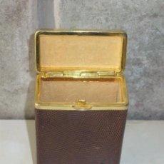 Coleccionismo: ANTIGUA PITILLERA DE PIEL,AÑOS 60.. Lote 60167619